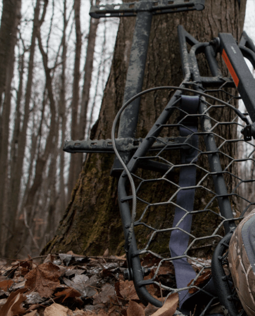Hawk introduces treestand with mud finish (Copy)