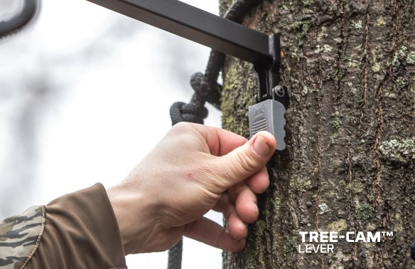tree-cam lever no movement tree arm hawk hunting accessories tools